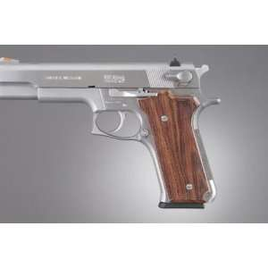 Hogue S&W Model 645 Auto, Kingwood Checkered 64611: Sports & Outdoors