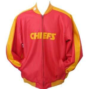 Men`s Kansas City Chiefs Rock Solid Starter Jacket