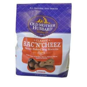 Old Mother Hubbard Bacn Cheez Large Dog Biscuits 3 Lb.