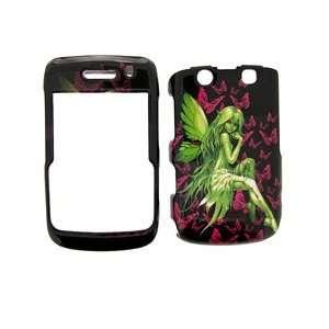 Blackberry Bold 9780 9700 RIM Fairy Angel Girl Green Pink