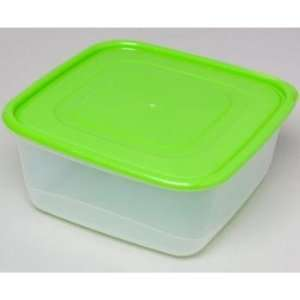 Square Plastic Food Storage Container Case Pack 60