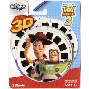 View Master 3D  Toy Story 3   3pc set Reel Toys & Games