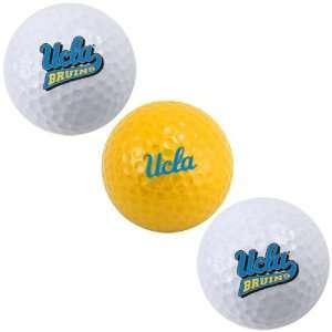 UCLA Bruins 3 Pack of Golf Balls