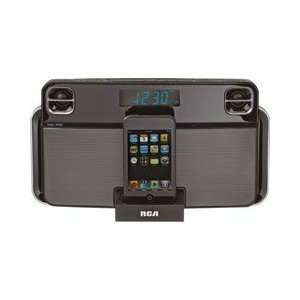 Rca Clock Radio Ipod Iphone Docking Retractable Dock Adjustable Soft