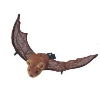 Mexican Free Tailed Bat, Realistic Wildlife Plush Stuffed Animal, 14