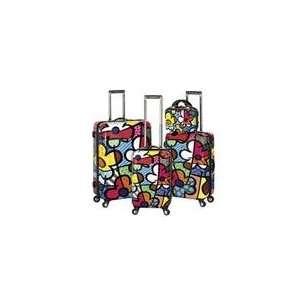 by Heys USA B702 4Pc Set Flowers 4 Piece Luggage Set