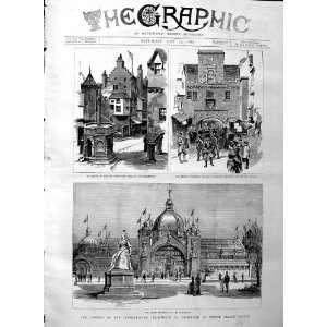 1886 Exhibition Prince Albert Victor Edinburgh Guard: Home & Kitchen