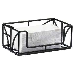 Cal mil Table Top Black Powder Coated Wire Paper Towel Holder