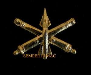 US ARMY AIR DEFENSE ARTILLERY ADA MILITARY HAT PIN WOW