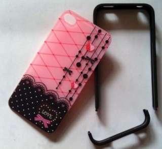 Sweet Love & Heart Girls Gift Hard Cover Case For Apple Iphone 4 4G