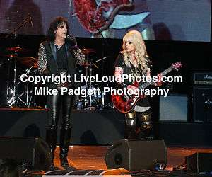 Alice Cooper   Orianthi   Rock N Roll Photography   Phoenix 2011
