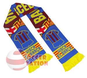 FC BARCELONA FOOTBALL CLUB SCARF VISCA EL BARCA