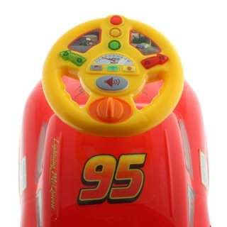 Disney Pixar Cars 2 My Lightning McQueen Activity Racer Children Kids