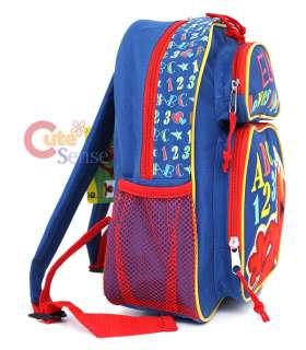 Sesame Street Elmo School Backpack BagMedium 12 ABC