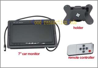 TFT LCD Rearview Headrest Monitor For DVD/VCR/GPS/ and Car Rearview