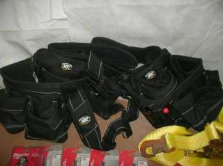 WHOLESALE LOT HEAVY DUTY TOOL BELT AND ASSORTED TOOLS