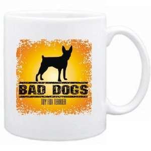 New  Bad Dogs Toy Fox Terrier  Mug Dog