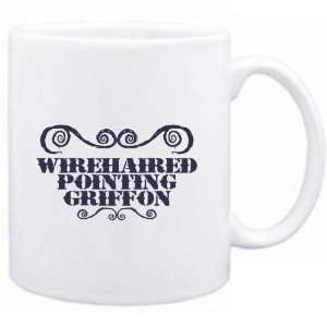 Mug White  Wirehaired Pointing Griffon   ORNAMENTS / URBAN STYLE