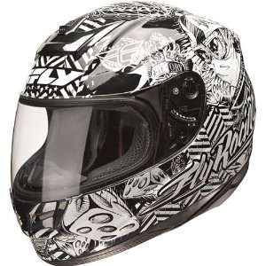 FLY RACING PARADIGM WINNERS CIRCLE STREET FULL FACE HELMET