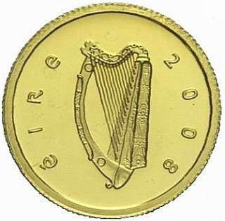 IRELAND REPUBLIC 20 EURO KM 55 PROOF GOLD COIN Skellig Michael Island