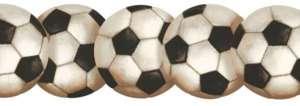 LASER CUT SOCCER BALLS SPORTS WALLPAPER BORDER BT2900B |
