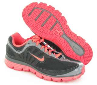 NIKE Inspire Dual Fusion Running Sneakers Pink/Black Womens size 8 M
