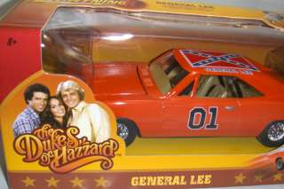 Lee 01 Dukes of Hazzard Bo Luke Orange Diecast Car 036881079675