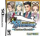 Phoenix Wright Ace Attorney Justice For All (Nintendo DS, 2007)