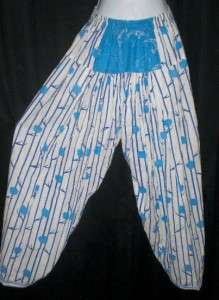 womens ETHNIC outfit INDIAN HAREM PANTS tunic mini dress shirt costume