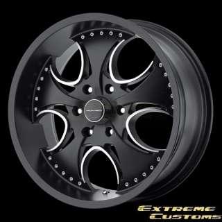 17 x8 KMC Wheels KM755 Venom Matte Black 5 6 Lug Rims FREE LUGS