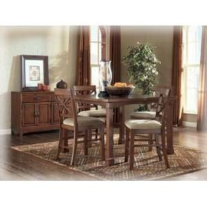 Irwin Square Butterfly Leaf Counter Height Table by Ashley Furniture