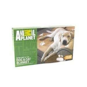 Animal Planet Ultra Soft Dog & Cat Blanket   Brown/Tan