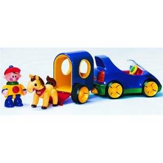 Tolo Toys First Friends Tractor Trailer: Toys & Games