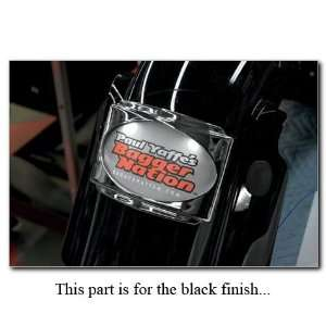 Paul Yaffe Originals SLP3 B Stealth 3 Black License Frame