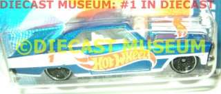 1966 66 CHEVY NOVA HOT WHEELS DIECAST 2010 2011