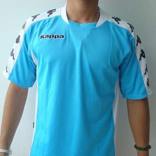 KAPPA Athletic Mens Football Soccer Jersey Shirt M L