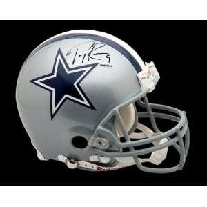 Tony Romo Autographed Dallas Cowboys Authentic Helmet