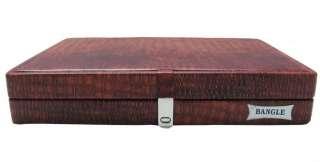 BANGLE BRACELET WHITE DISPLAY JEWELRY STORAGE CASE BOX