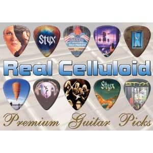 Styx Premium Guitar Picks X 10 (0) Musical Instruments