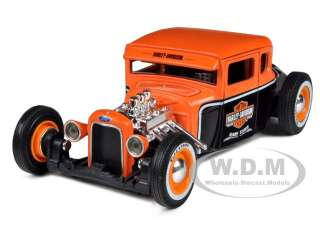 new 1 24 scale diecast model car of 1929 ford model a harley davidson