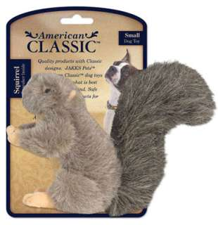 American Classic Plush Squirrel Dog Toy Jakks Pacific