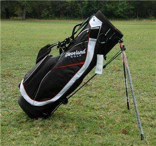 Cleveland Golf Black/Red Lightweight Stand Golf Bag