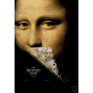 Da Vinci Code Original Double Sided 27x40 Movie Poster