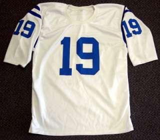 Johnny Unitas Autographed Signed Colts Jersey QB Century PSA/DNA
