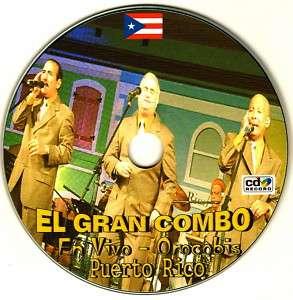 EL GRAN COMBO EN VIVO OROCOVIS PUERTO RICO CD EN VIVO