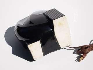 Mid Century Retro Art Deco Ceramic Pottery Planter TV Lamp