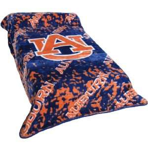 Auburn University Tigers Twin Comforter Throw Blanket