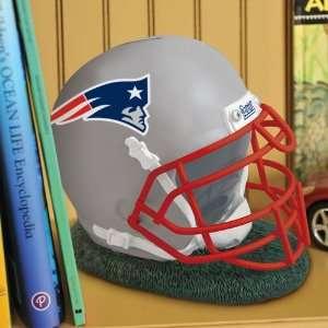 New England Patriots NFL Helmet Shape Coin Bank Sports