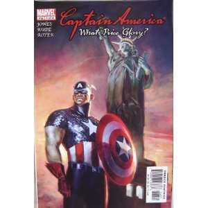 Marvel Comics Captain America What Price Glory? No. 4 of 4