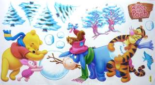 Cute Disney Winnie Pooh & Friends Wall Decor stickers